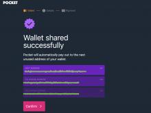 pocket bitcoin xPub Sats stacken
