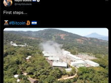 Nayib Bukele, Bitcoin Mining, Volcanos
